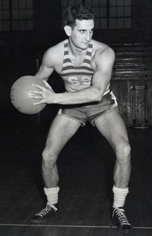 Elkin Isaac was a three-time all-MIAA performer in men's basketball
