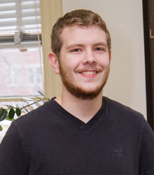 Logan Woods, '14, a 2014 Fulbright Award recipient, will teach English in Romania for nine months beginning this fall.