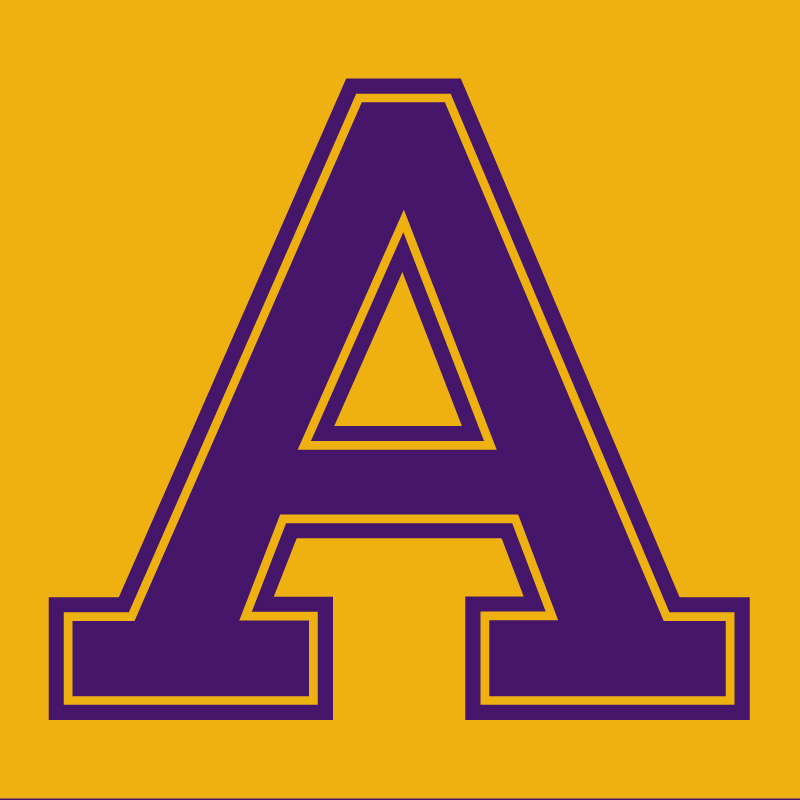 athletic-a_purple_on_gold