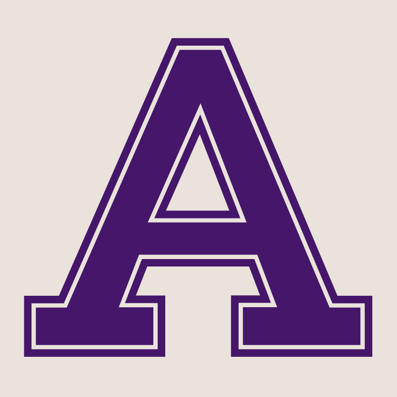 athletic-a_purple_on_gray