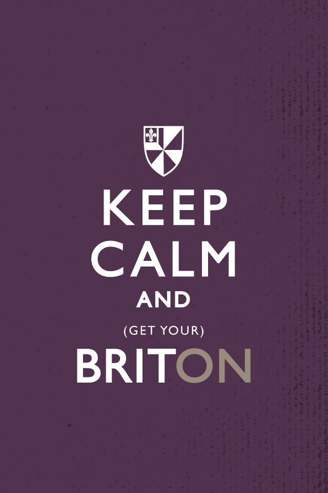 "Albion's ""Keep Calm"" iPhone wallpaper"