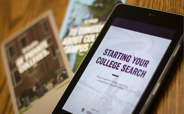 Starting Your College Search ebook