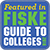 Featured in FISKE guide to Colleges - 2018