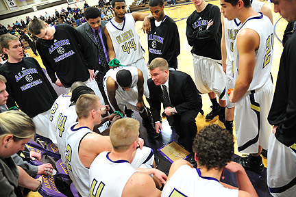 Albion College Britons basketball team