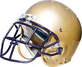 Albion Football Helmet