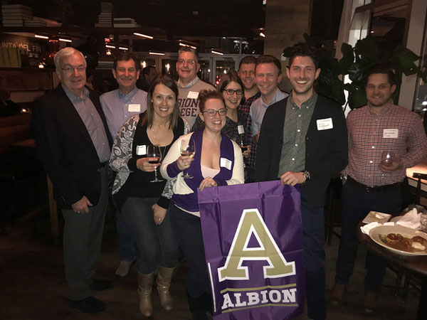 Boston-area alumni celebrate Albion Everywhere