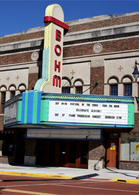 The historic Bohm Theatre