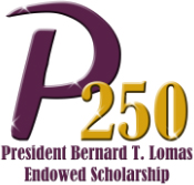 The P250 President Bernard T. Lomas Endowed Scholarship - logo.