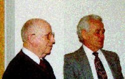 Paul Cook and Robert Dinniny, faculty emeriti, chemistry, Albion College