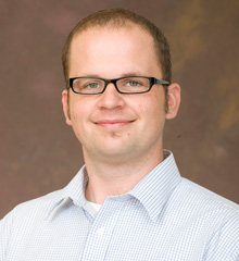 Kevin Metz, assistant professor of chemistry, Albion College