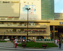 The E-mart store at Wangsimni subway station in Seoul