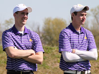 Albion's Brent Koaches and Scott Merritt were named All-America Scholars in NCAA Division III men's golf for 2012.