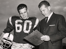 Joe and Fritz Shurmur in 1961
