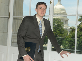 Brennan Ackerman in Washington D.C.