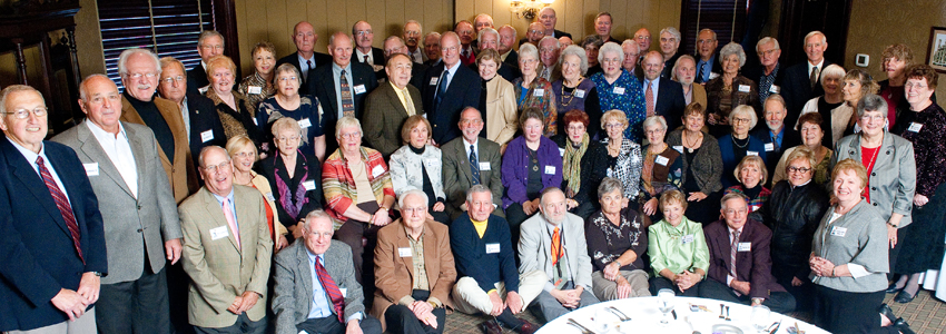 Members of the Class of 1960
