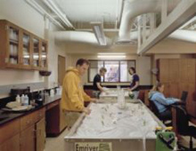 Albion College geology facilities