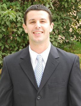 Albion College and Gerstacker Institute alumnus D.J. Mocini, '08