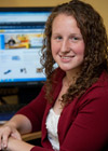 Gerstacker Institute member Caroline Dobbins, '12
