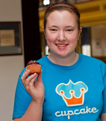 Jessica DeWaters, '13, opened The Dreamery cupcake bar through Albion College's Student Ventures Program.