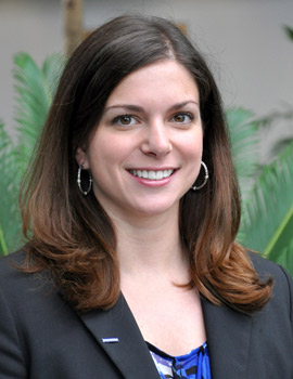 Albion College and Gerstacker Institute alumna Marisa Fortuna, '07