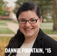 Dannie Fountain, '15