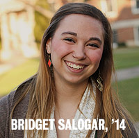 Bridget Salogar, '14