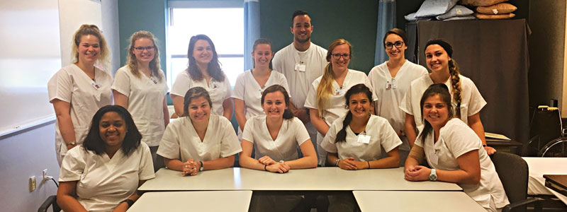 Maymester CNA students
