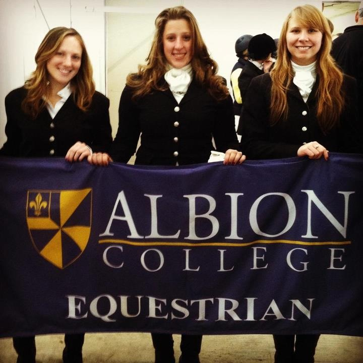 L-R: Lauren Levy '12, Paige Gustafson '15, and Alyssa Olson '13
