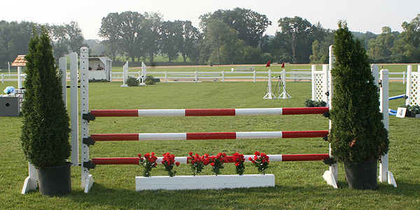 Albion's Equestrian Center outdoor arena