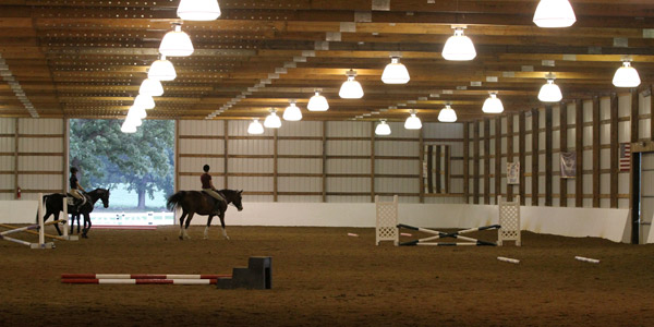 Randi C. Heathman Indoor Arena