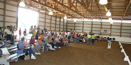 Albion College Equestrian Center's clinics and symposia.