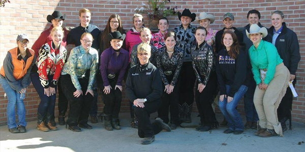 Albion College Stock Seat team at the SVSU Show on October 10, 2015.