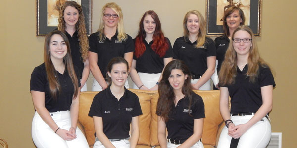 The 2015-2016 Dressage Team.