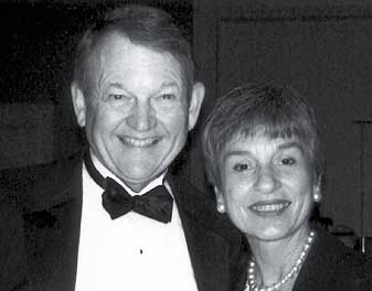 DAA Award Winners: William R. Goudie, '63, and Janet Matilo Goudie, '64