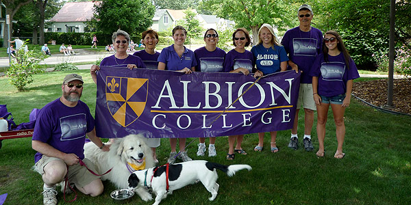 Traverse City Alumni Chapter at the Cherry Festival Parade