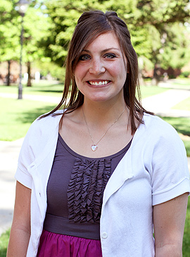 Maegan Neal, '13 - Institutional Advancement intern
