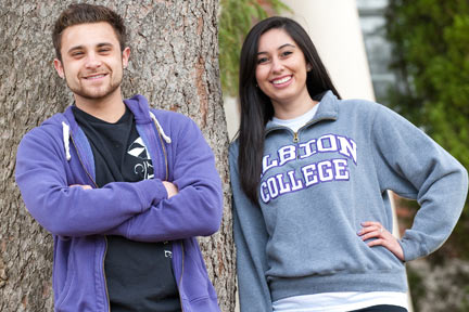 Every gift to Albion College makes a difference in the lives of students.