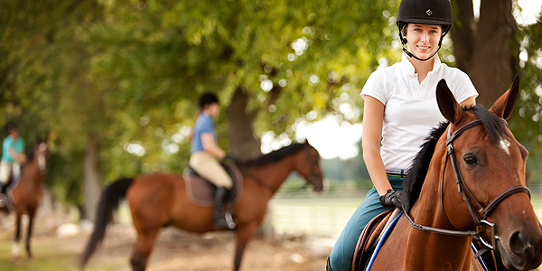 Albion College offers many options in its riding program.