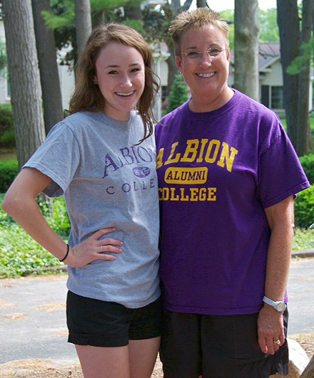 Holly, '16, and Lee Pyper, '81