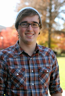 Albion College student Nathan Masserang, '12