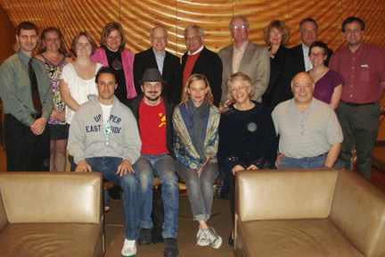 Members of Albion College's Southern California alumni chapter