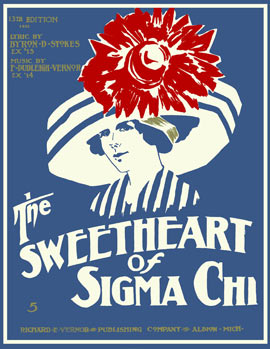 The Sweetheart of Sigma Chi, 100th anniversary celebration, Oct. 14-15, 2011.