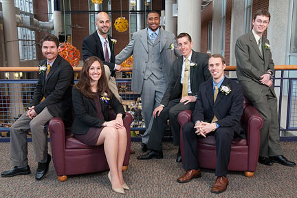 Albion College Young Alumni Award winners for 2012.