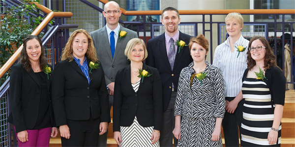 Albion College 2013 Young Alumni Award recipients.