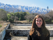 Katie Stephens, '12, studied for a year in Argentina.