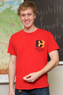 Tom Dukes, '13, spent six months in Germany, primarily in Dresden and Tubingen.