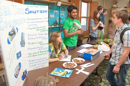 Green Day is an annual springtime event at the Nature Center.