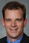 Mike Frandsen, assistant professor of management at Albion since 2004, was named Gerstacker Institute director in 2006.