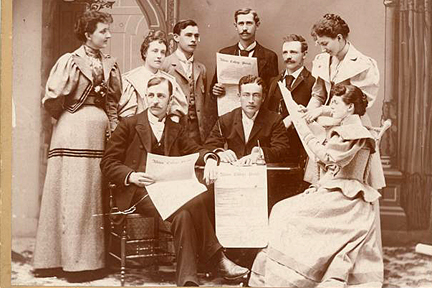 The 1893-94 Pleiad editorial staff