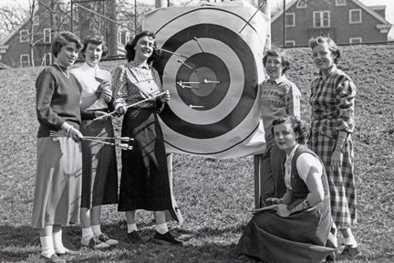 The Women's Athletic Association, 1950